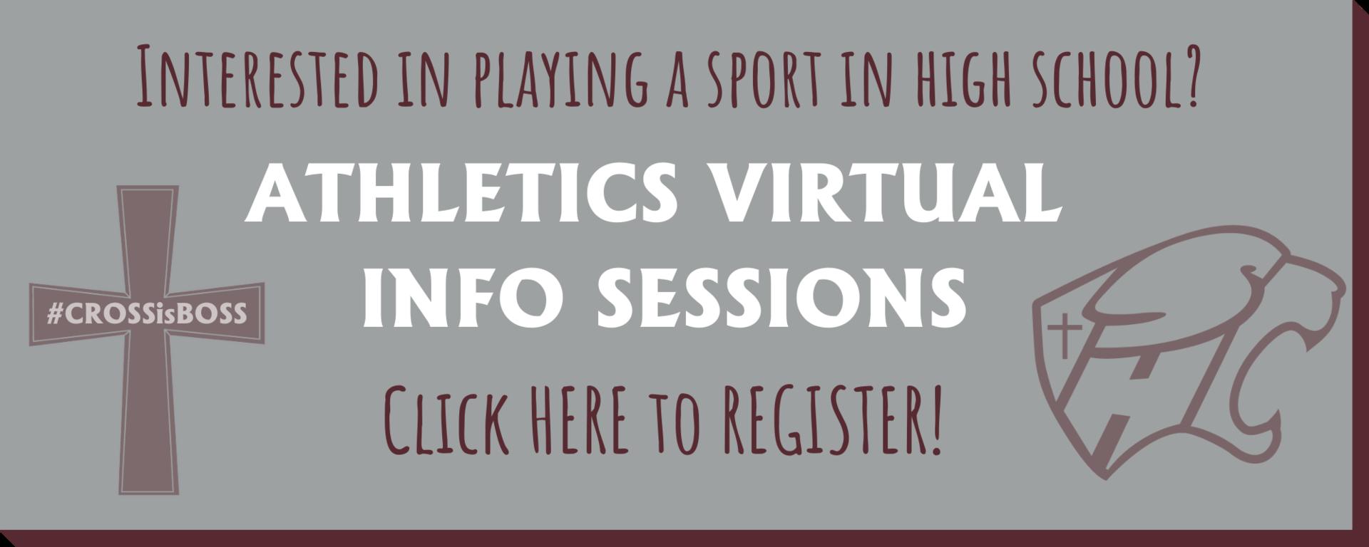 Athletics Info Sessions