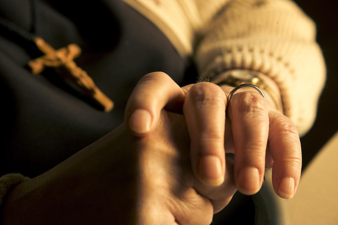 photo of praying hands