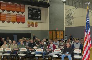 There were 49 veterans attending this years event.