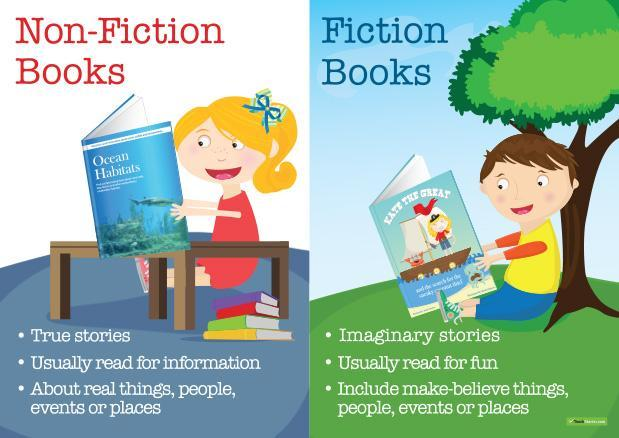 Non Fiction OR Fiction