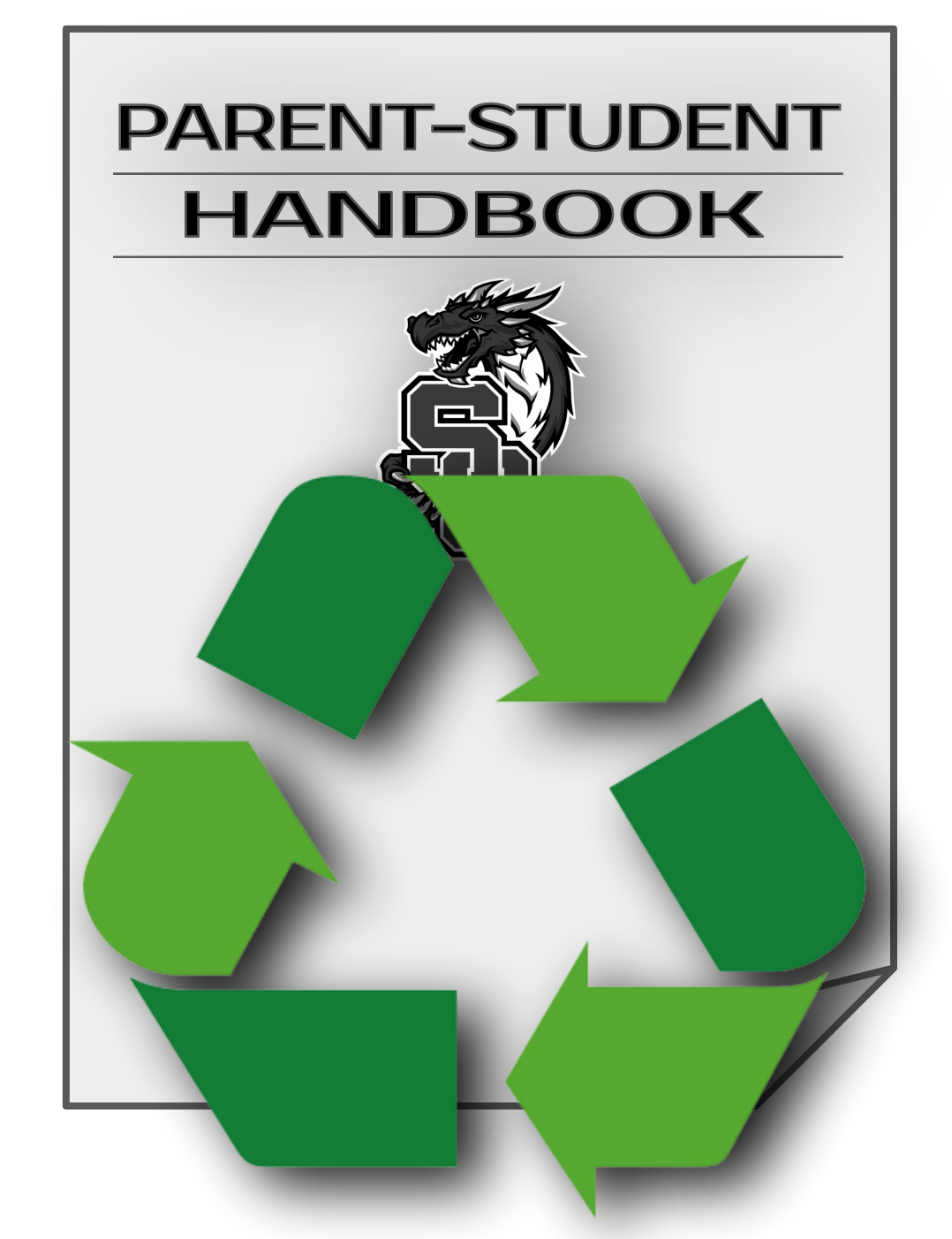 Be Green - Use Online Handbook!