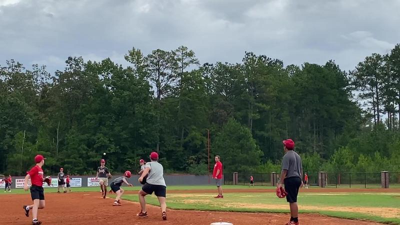 Northeast High Baseball Practice