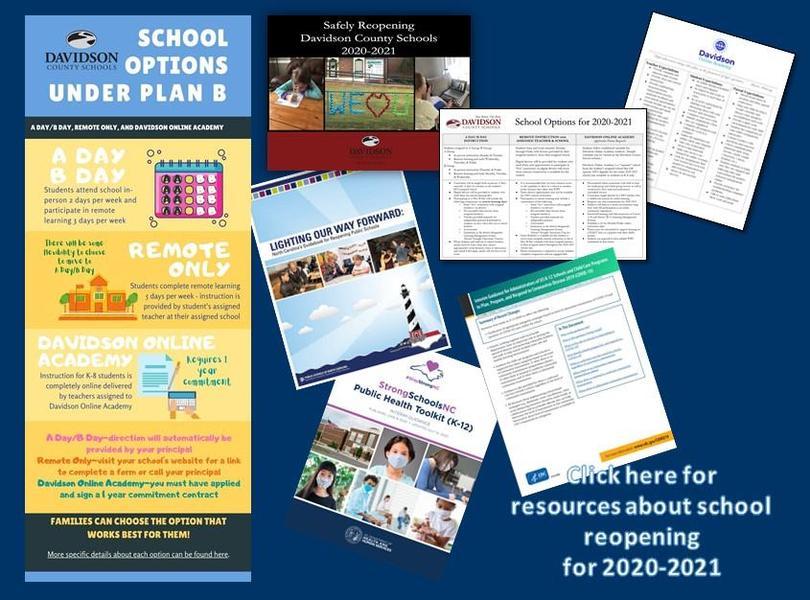 School Reopening Resources
