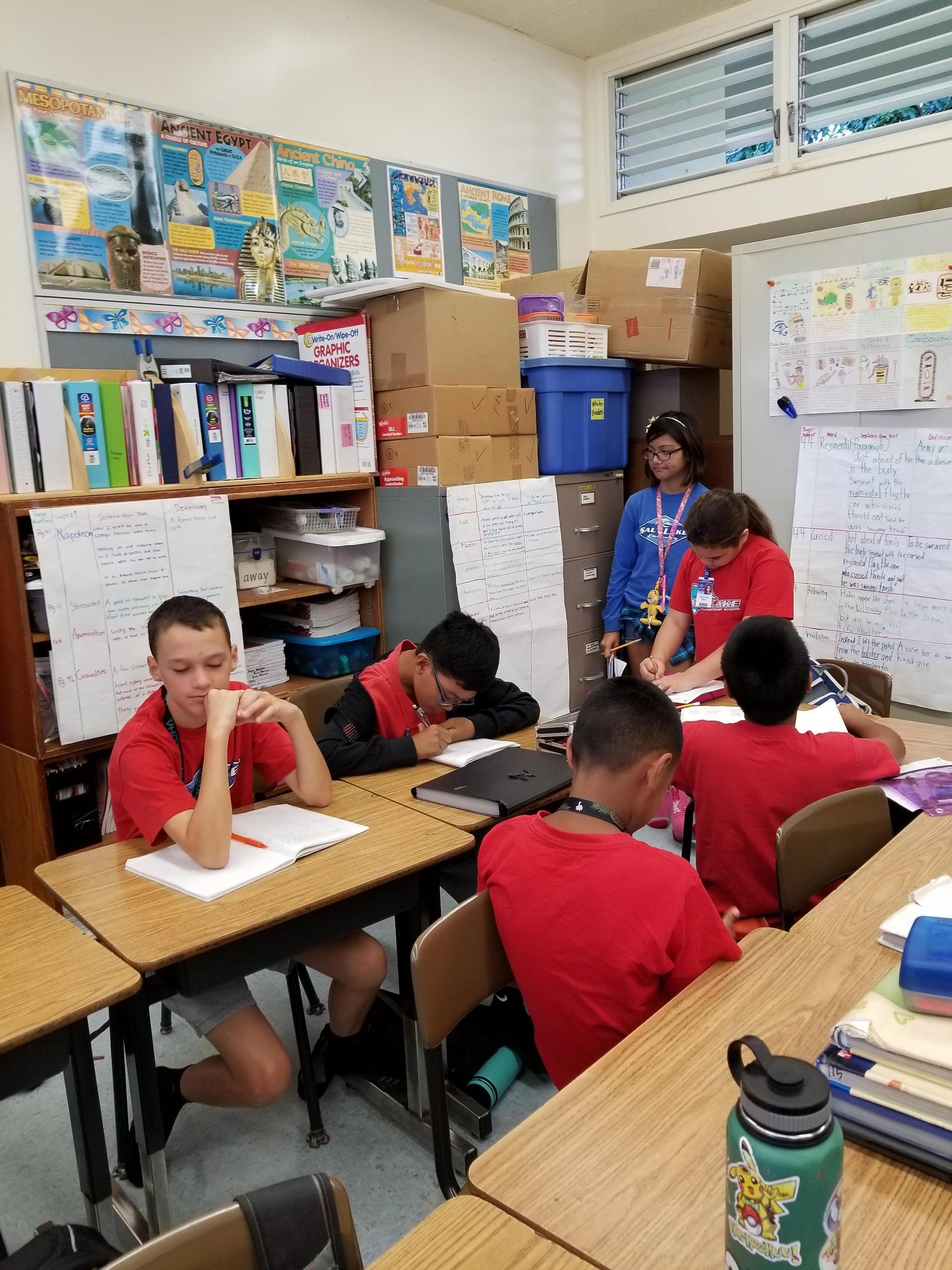 Welcome To Grade 6 Grade 6 Salt Lake Elementary School