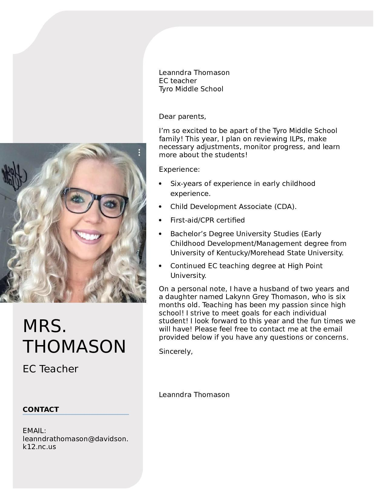 Leanndra Thomason
