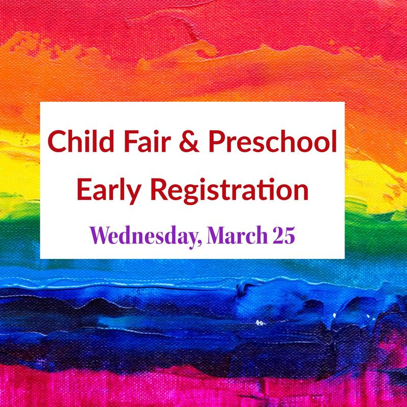 Child Fair & Early Preschool Registration