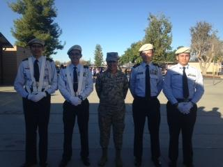 Hemet High ROTC at our Veterans Day Celebration