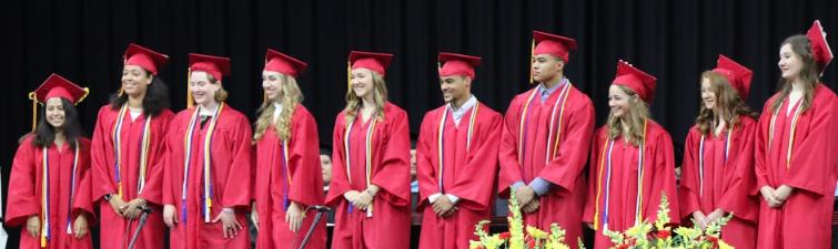 Rocky graduates