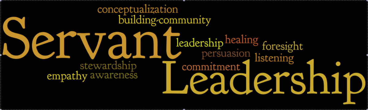 Servant Leadership Banner