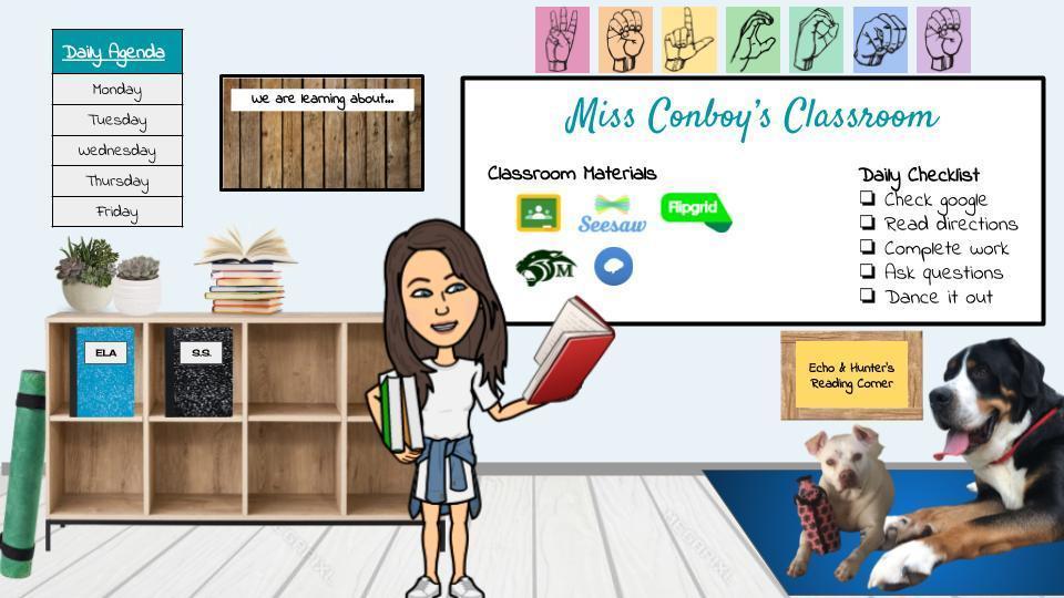 Bitmoji classroom