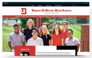 bishop dubourg homepage