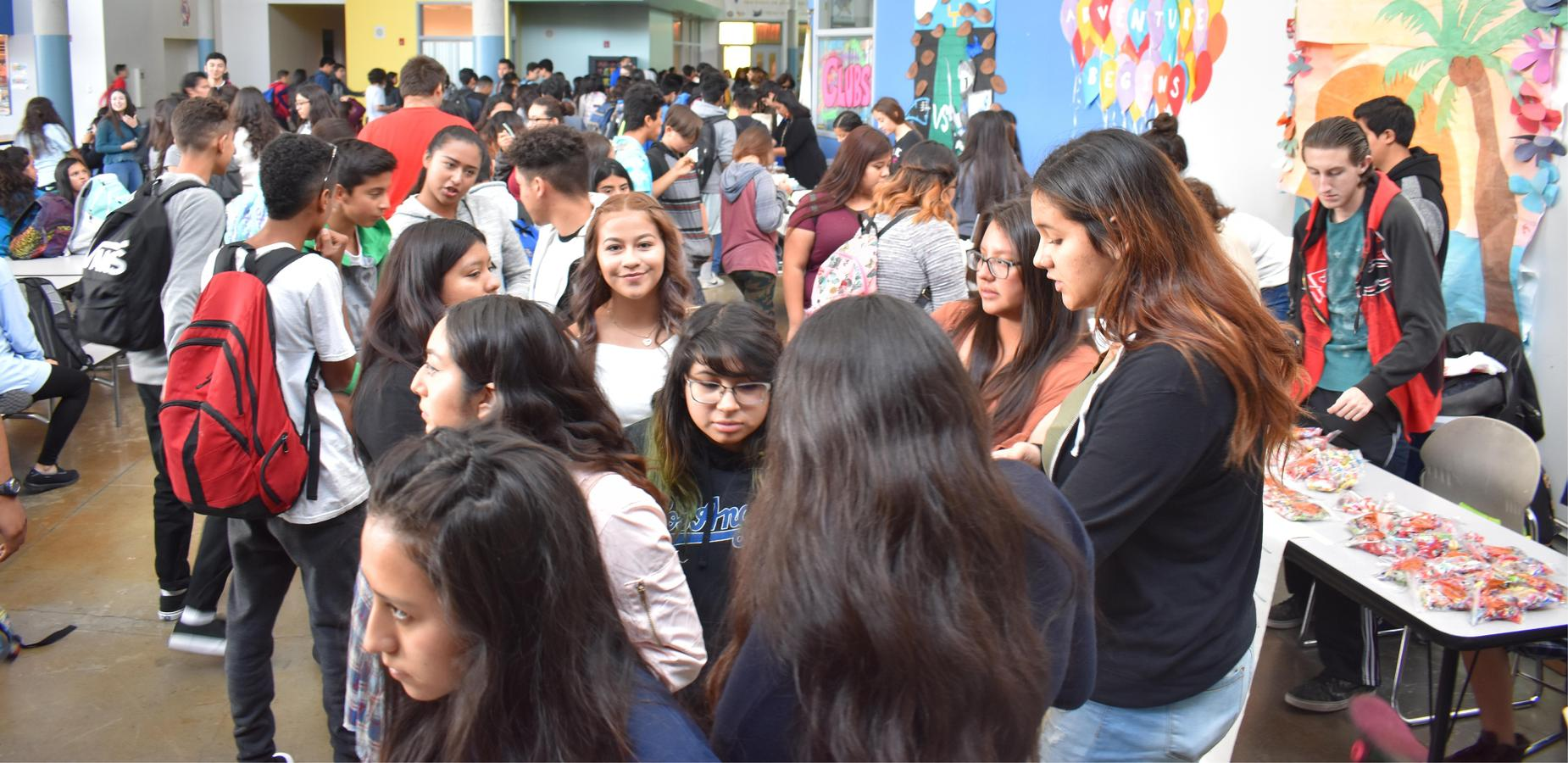 VAHS Students Celebrate at School Fair