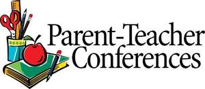 parent teacher conferences graphic