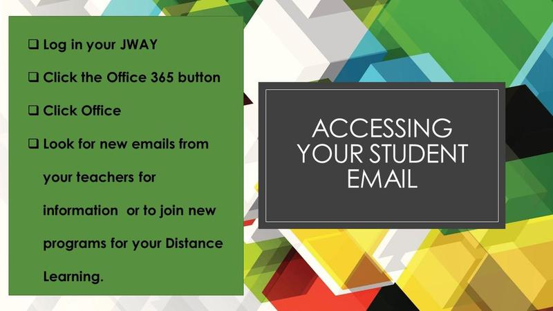 Directions for Accessing School Email
