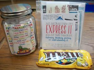 A gift for Teacher Appreciation Week.