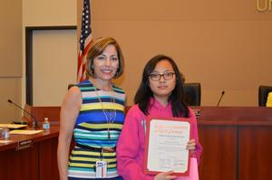 Outstanding S.G.H.S. Students Recognized by the A.U.S.D.