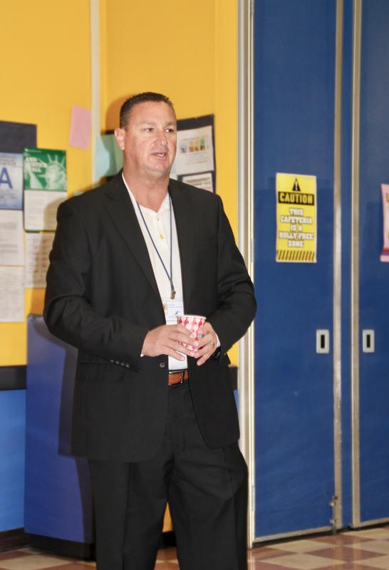 Parents Meet Nate Lambdin At 'Breakfast With The Principal' Featured Photo