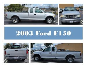 collage of 2003 F150 exterior