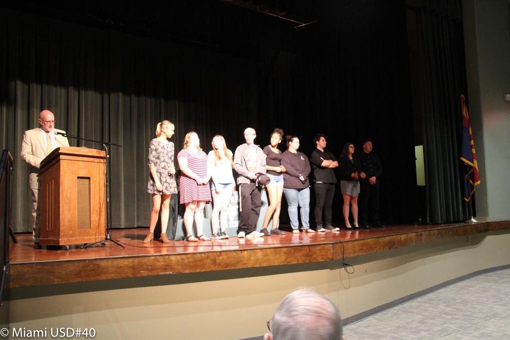 2018 MHS Awards Ceremony