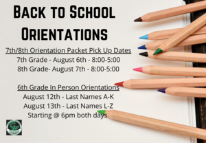 back to school orientations