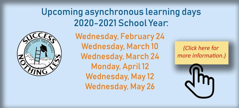 Asynchronous Learning Days Announcement - 2/19/2021 Featured Photo