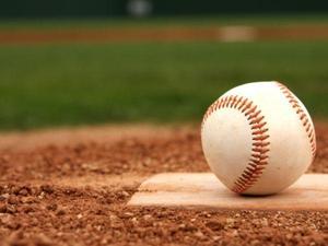 baseball sitting on base plate