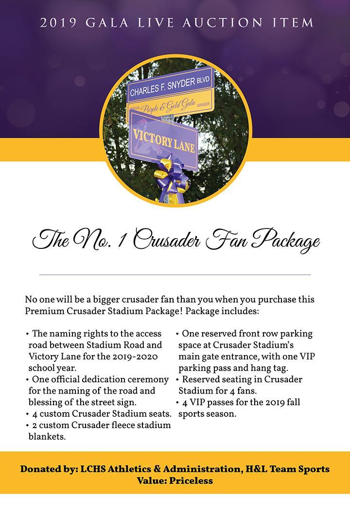 Lancaster Catholic High School | Purple & Gold Gala