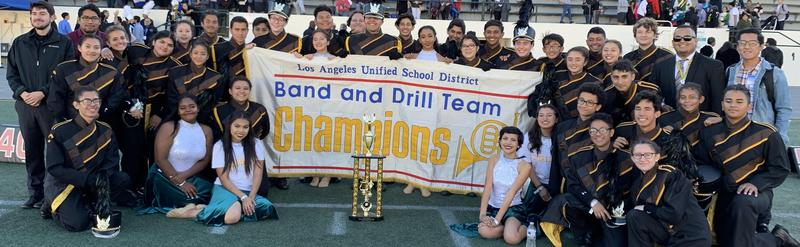 Kennedy Band and Color Guard Wins 1st Place AGAIN! Featured Photo