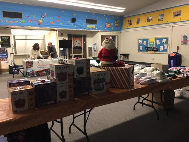 Thank you to our wonderful staff and volunteers who made the Winter Bazaar such a success!