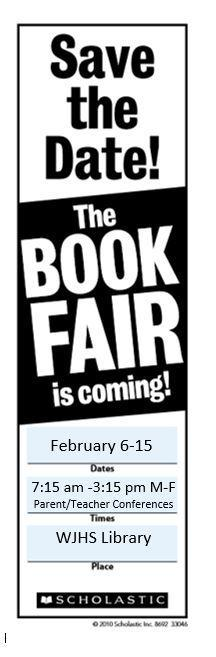 Winslow Junior High School Bookfair!! Featured Photo