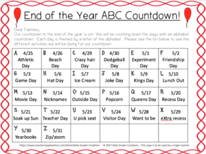 Clip art of ABC countdown