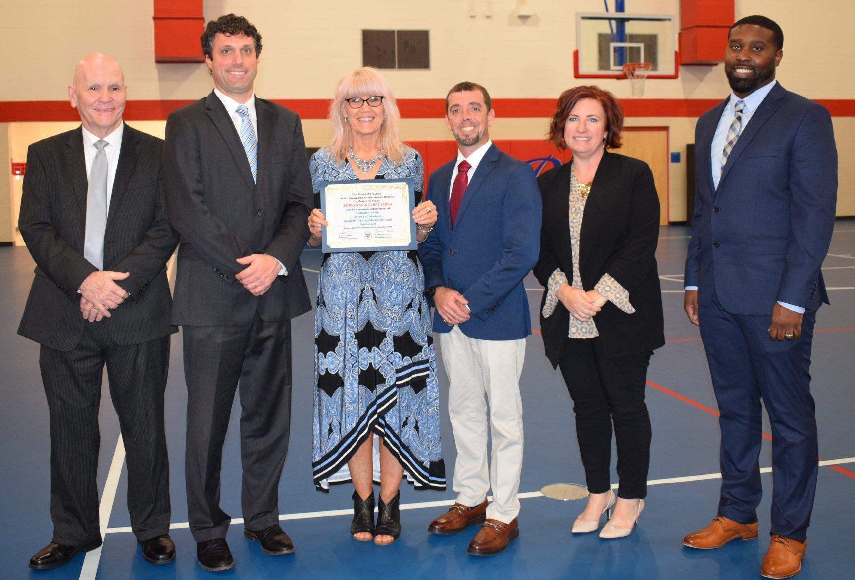 TLA Academy Gym Dedicated to Curry, Walkers