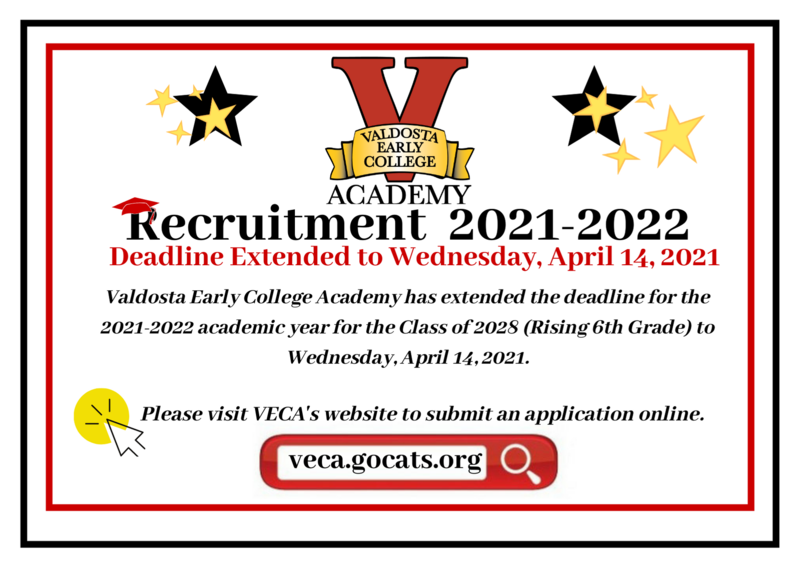 VECA Recruitment 2021-2022  Extended
