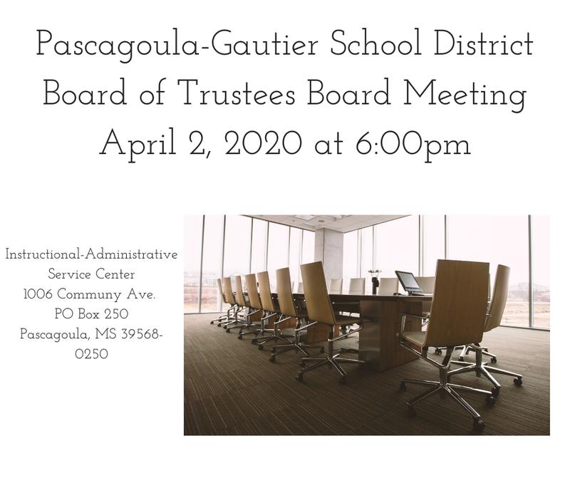 PGSD Board of Trustees Meeting