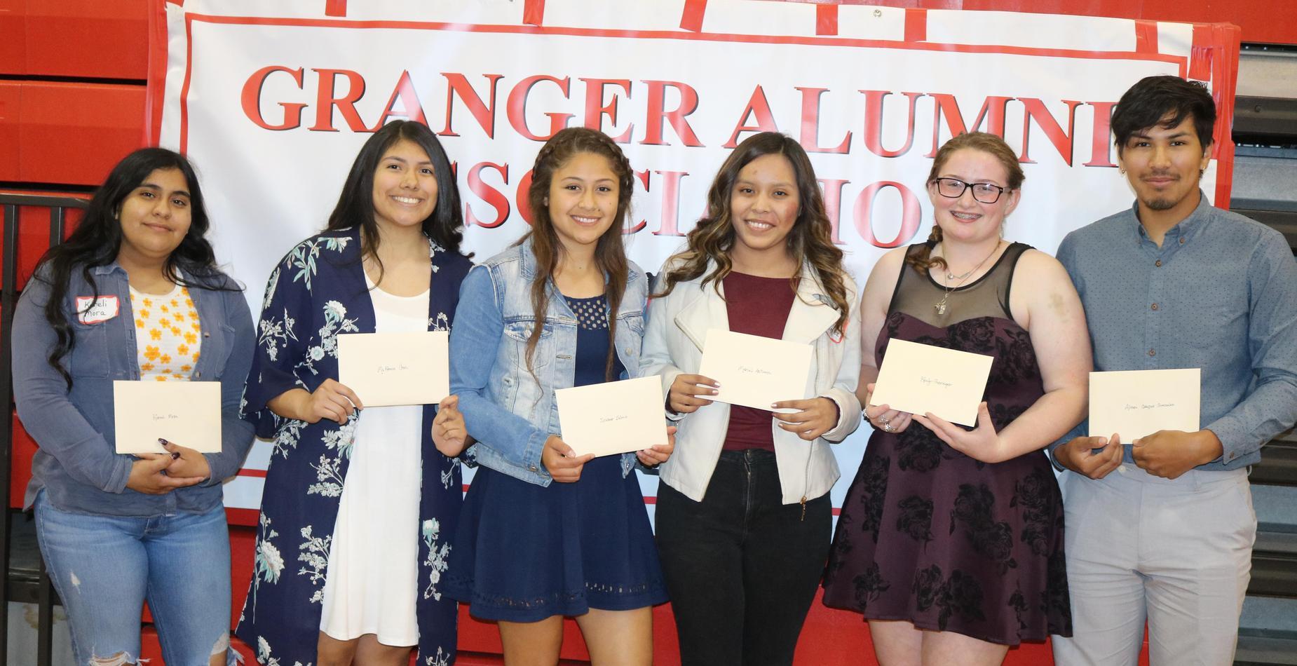 Alumni Banquet Scholarship Recipients