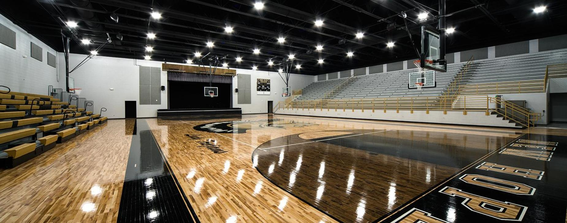 New Hope High School Basketball Gym