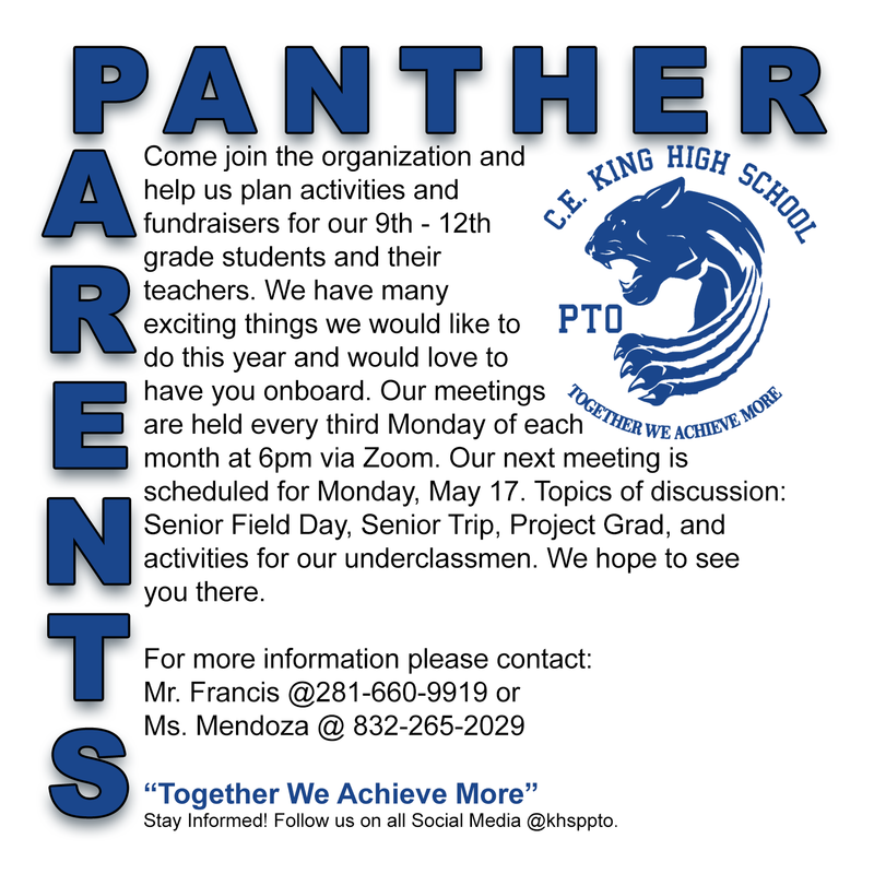 Panther PTO Featured Photo