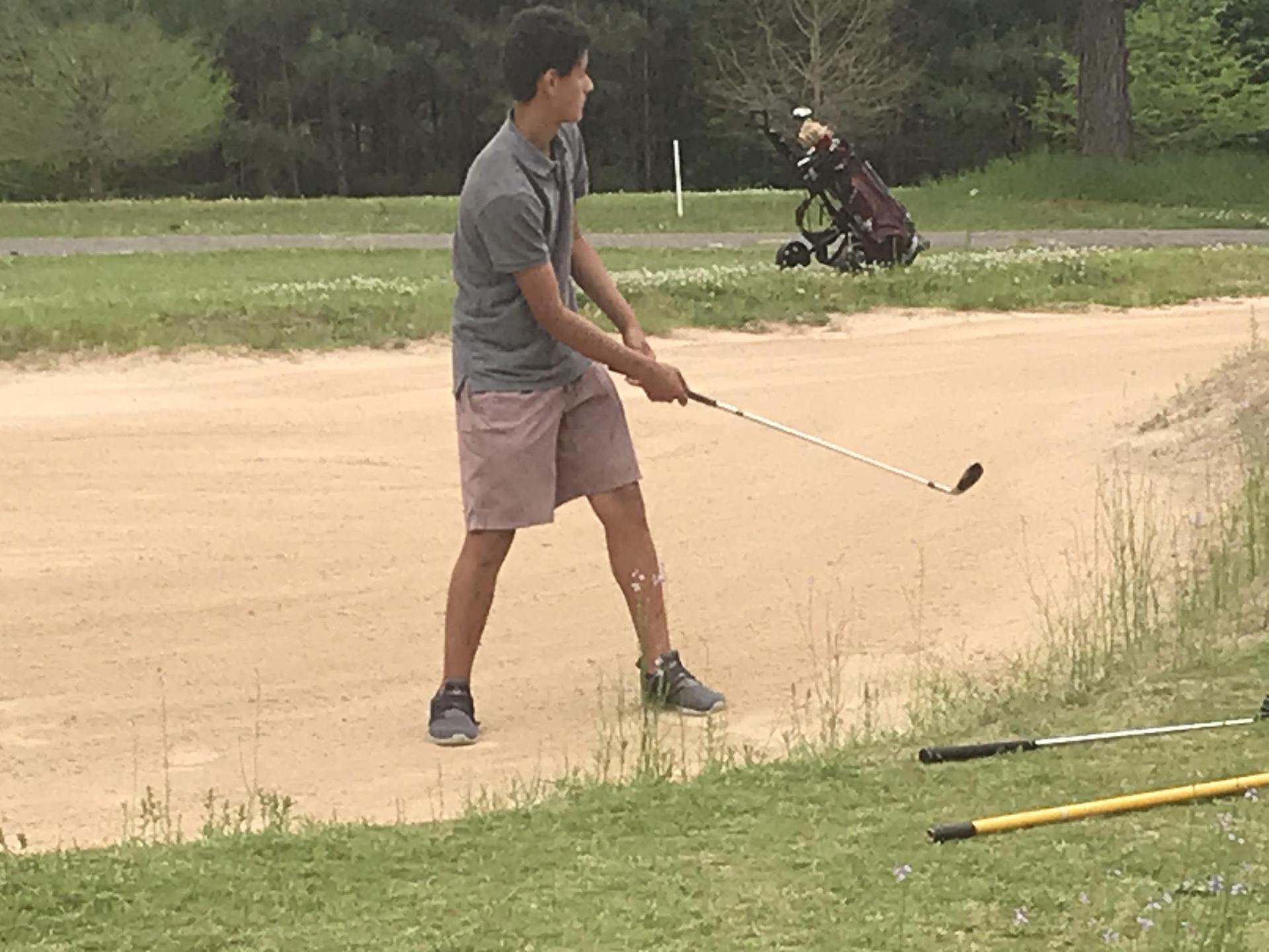 CHS Golfer Jaren Rives