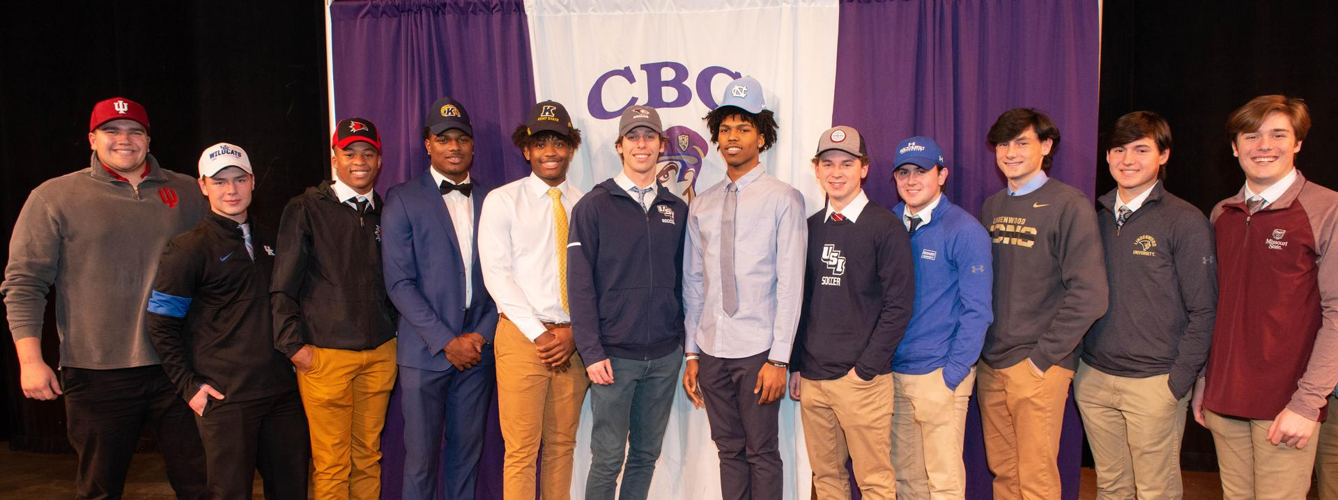 Signing Day 2020 group photo