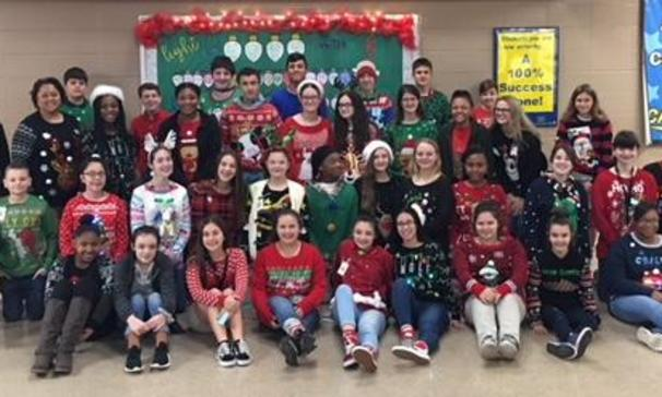 EJHS Ugly Christmas Sweater Contest
