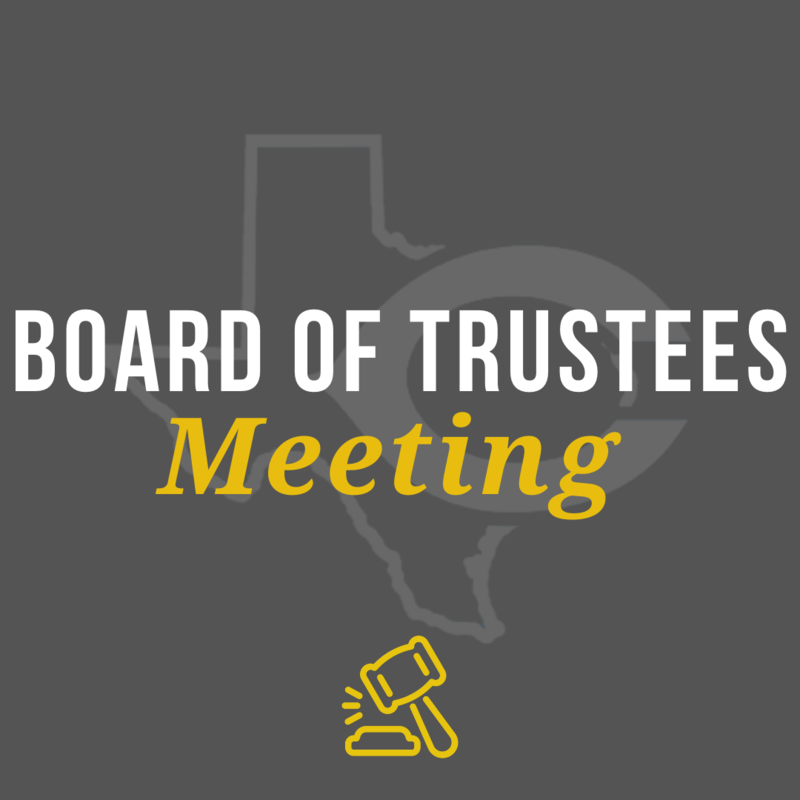 Board of Trustees Notes: August 24, 2020 Featured Photo
