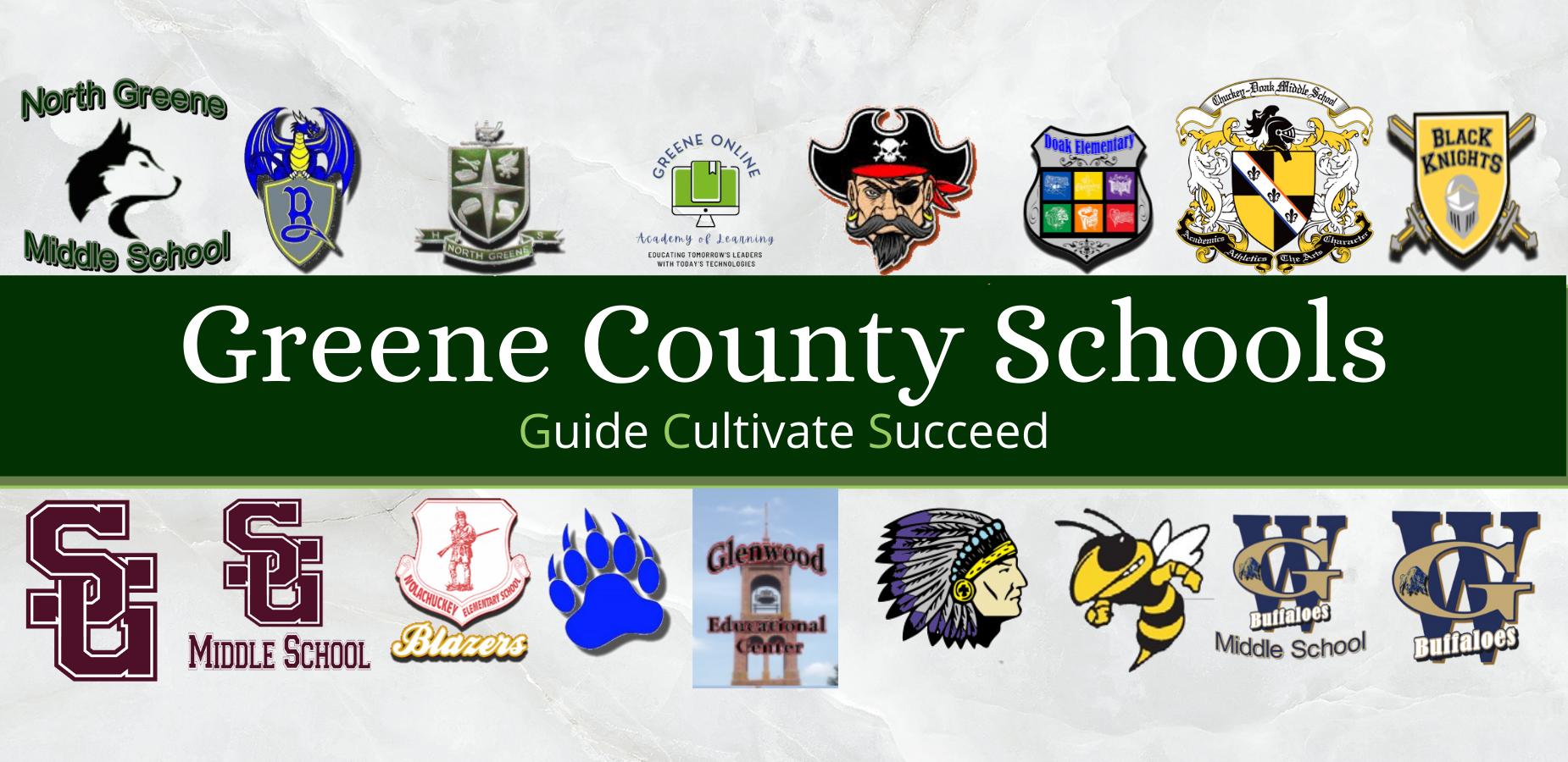Greene County Schools Logos