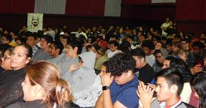 Parents and Students at our 1st Quarter Awards assembly.