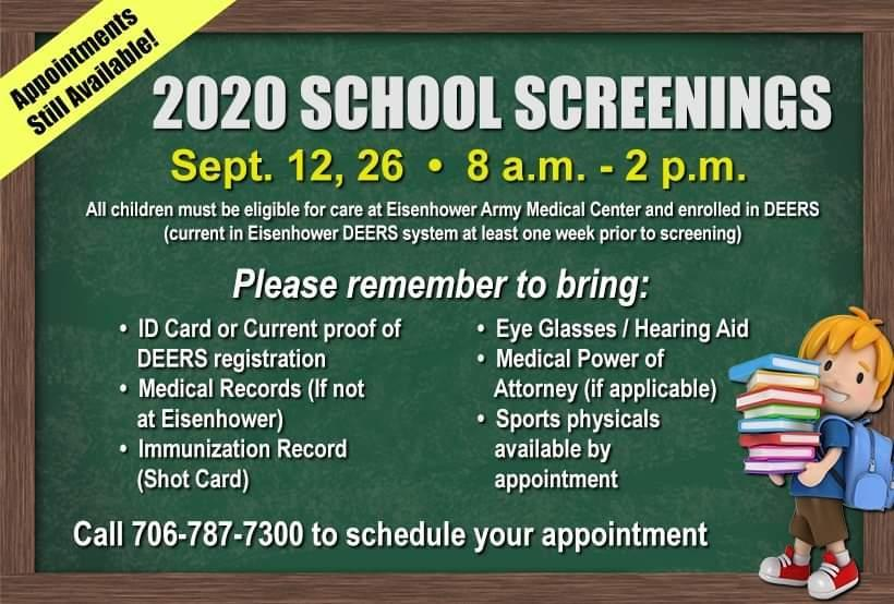 EAMC School Screening