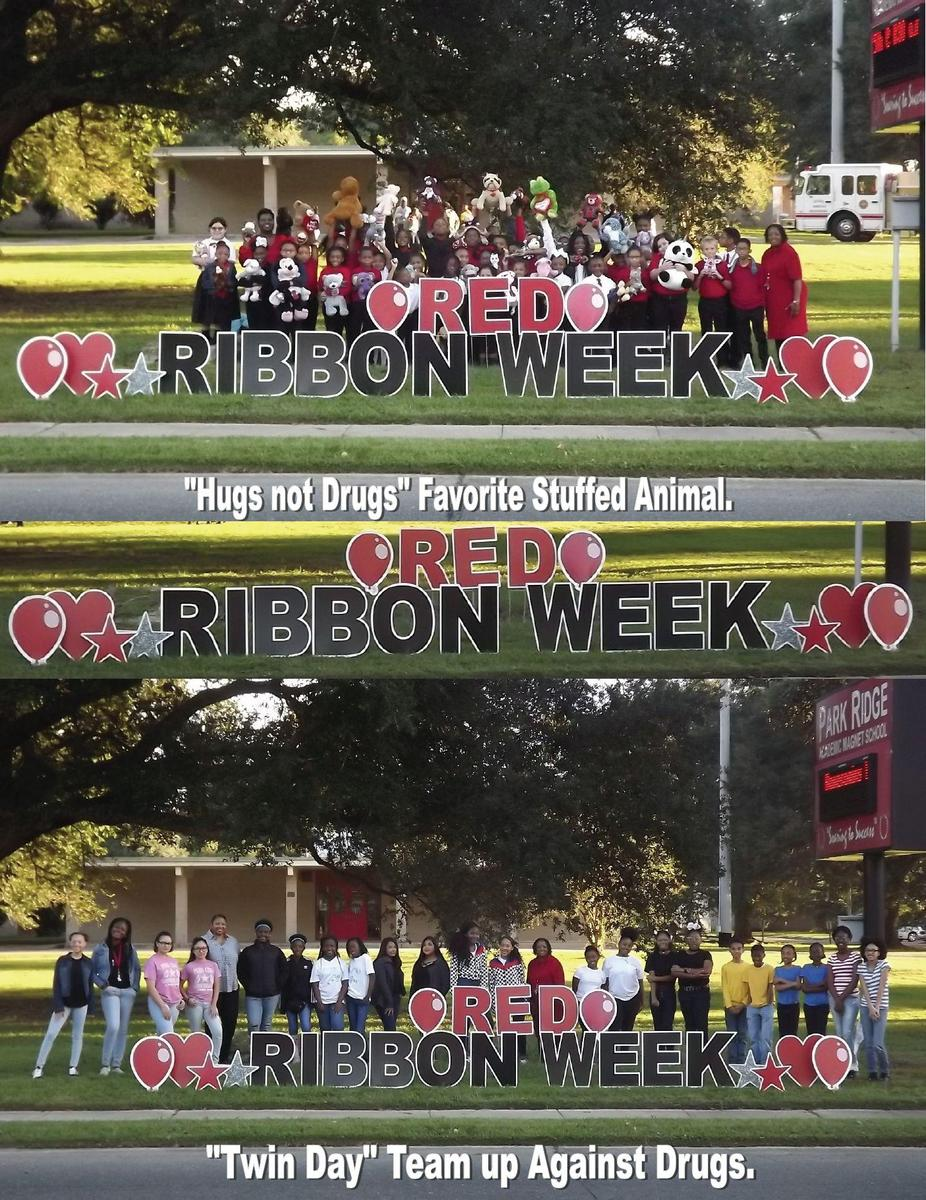 Poster for PRAMS Red Ribbon Week 2018