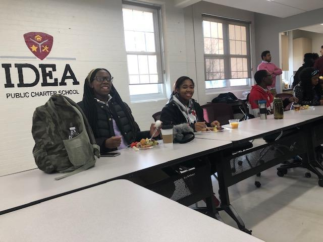 NHS Officers Make Big Plans for Deanwood Chapter at IDEA Thumbnail Image