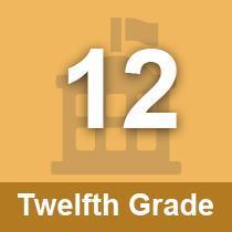 Twelfth Grade button