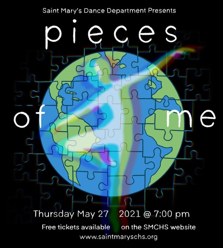 Virtual Spring Dance Concert - Pieces of Me! Featured Photo