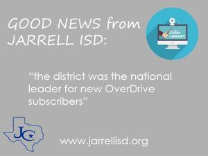 JISD had a 703 percent increase in OverDriver users
