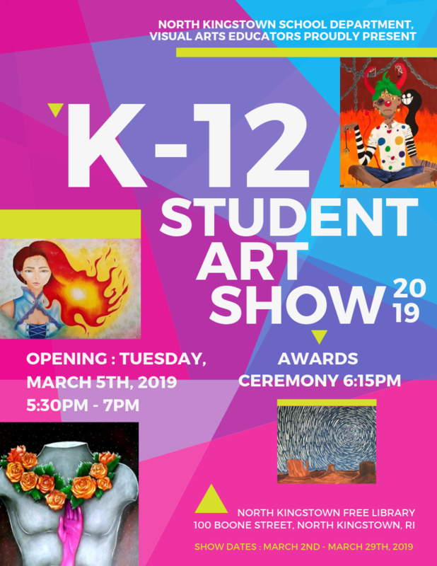 K-12 Student Art Show Featured Photo
